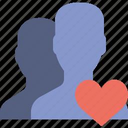 communication, interaction, interface, like, profiles icon