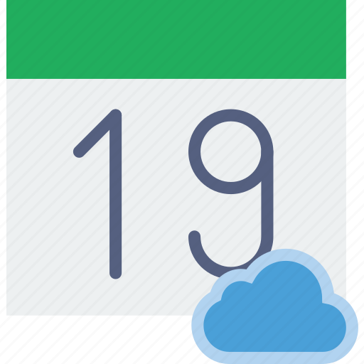 add, calendar, cloud, communication, interaction, interface, to icon