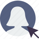 click, communication, interaction, interface, profile