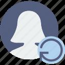 communication, interaction, interface, refreshv icon