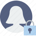 communication, interaction, interface, lock, profile
