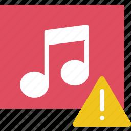 album, communication, interaction, interface, warning icon