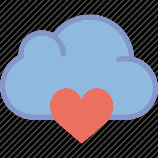 cloud, communication, interaction, interface, like icon