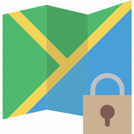 communication, interaction, interface, lock, map icon