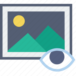communication, hide, interaction, interface, picture icon