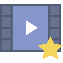 communication, favorite, interaction, interface, video icon