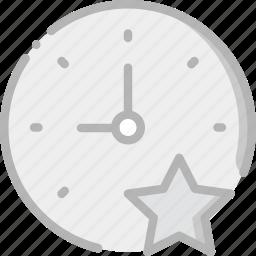 clock, communication, favorite, interaction, interface icon
