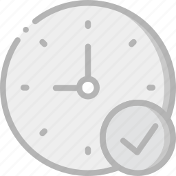clock, communication, interaction, interface, success icon