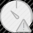 interface, communication, interaction, warning, stopwatch icon