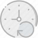 clock, communication, interaction, interface, refresh icon