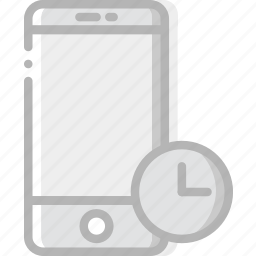 communication, for, interaction, interface, smartphone, wait icon