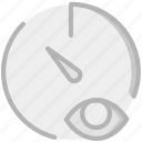 interface, communication, interaction, hide, stopwatch icon