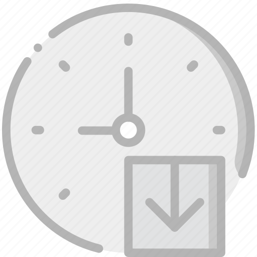 clock, communication, download, interaction, interface icon