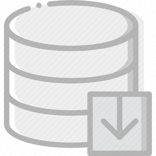 communication, database, download, interaction, interface icon