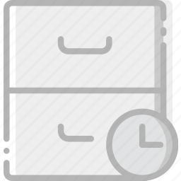 archive, communication, for, interaction, interface, wait icon