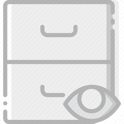 archive, communication, hide, interaction, interface icon