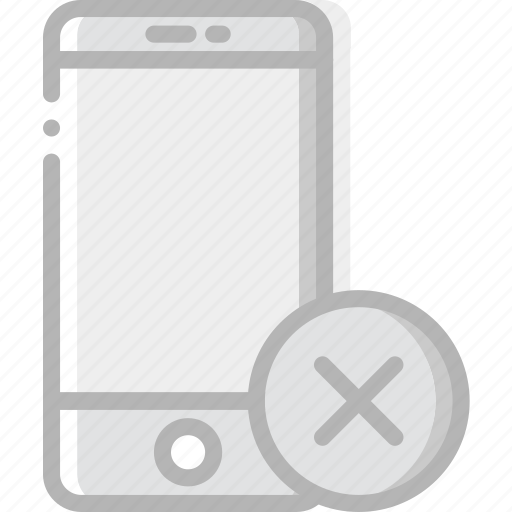 communication, delete, interaction, interface, smartphone icon