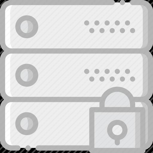 communication, interaction, interface, lock, network icon