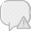 communication, conversation, interaction, interface, warning