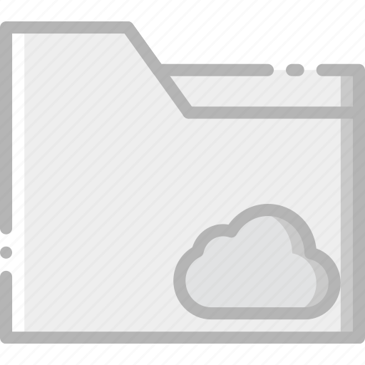 add, cloud, communication, folder, interaction, interface, to icon