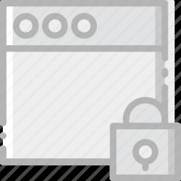 communication, interaction, interface, lock, window icon