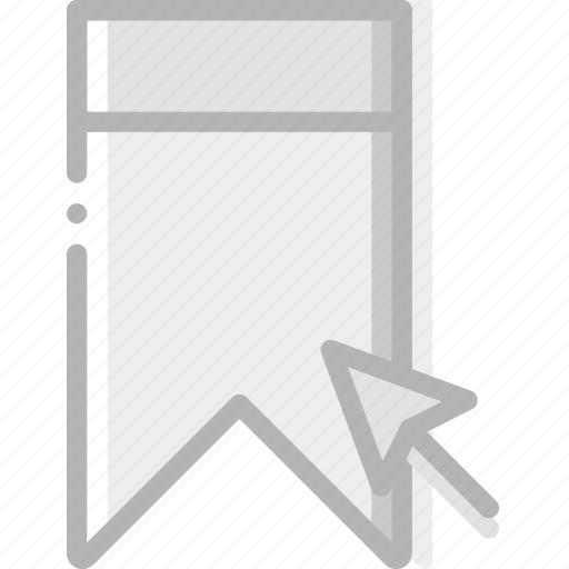 bookmark, click, communication, interaction, interface icon