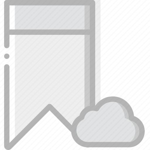 add, bookmark, cloud, communication, interaction, interface, to icon