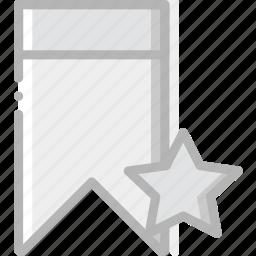 bookmark, communication, favorite, interaction, interface icon