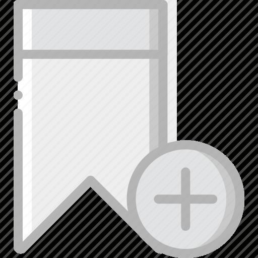 add, bookmark, communication, interaction, interface icon