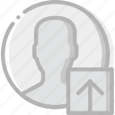 communication, interaction, interface, profile, upload