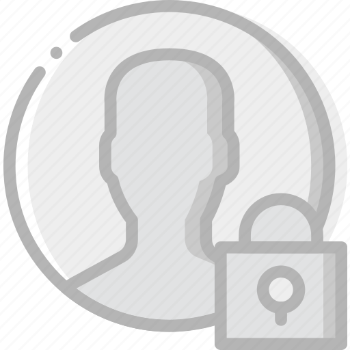 communication, interaction, interface, lock, profile icon