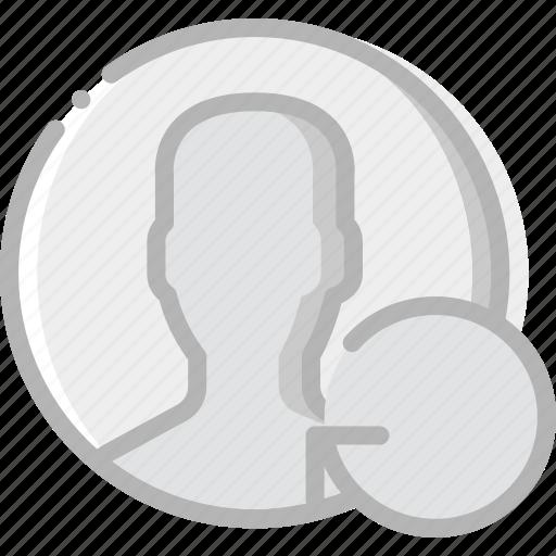 communication, interaction, interface, profile, refresh icon