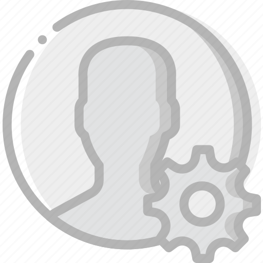 communication, interaction, interface, profile, settings icon