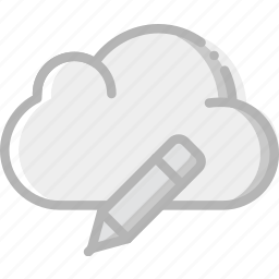 cloud, communication, edit, interaction, interface icon