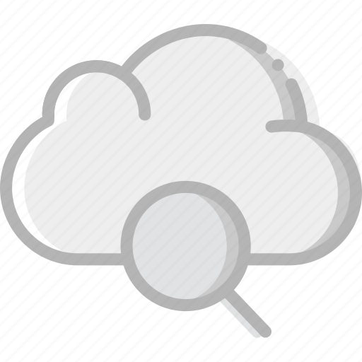 cloud, communication, interaction, interface, search icon
