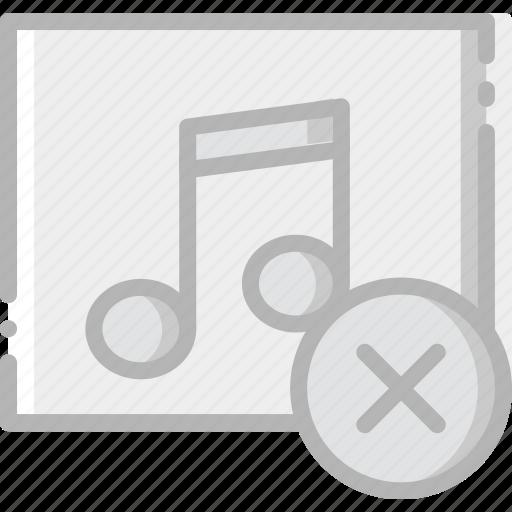 album, communication, delete, interaction, interface icon