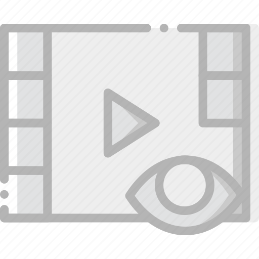 communication, hide, interaction, interface, video icon