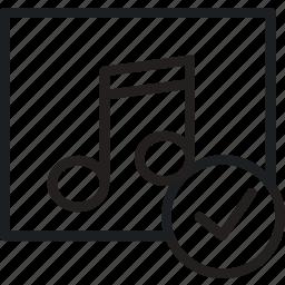 album, communication, interaction, interface, success icon