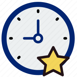 clock, communication, favorite, interaction, interface icon