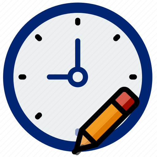 clock, communication, edit, interaction, interface icon