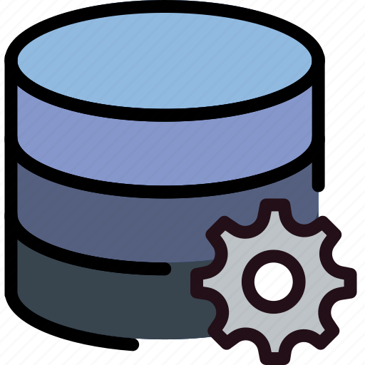 communication, database, interaction, interface, settings icon