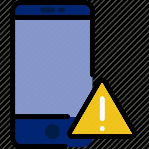 communication, interaction, interface, smartphone, warning icon