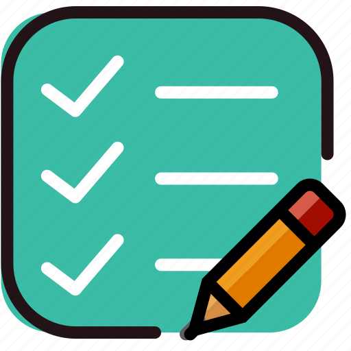 communication, do, edit, interaction, interface, list, to icon