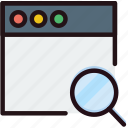 communication, interaction, interface, search, window icon