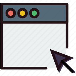 click, communication, interaction, interface, window icon
