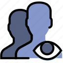 communication, hide, interaction, interface, profiles