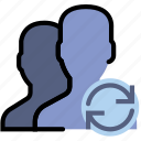 communication, interaction, interface, profiles, sync