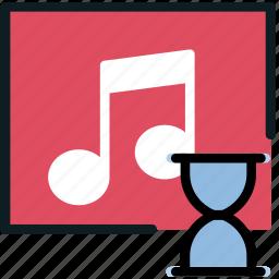 album, communication, interaction, interface, loading icon