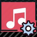 album, communication, interaction, interface, settings icon