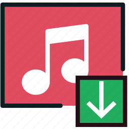 album, communication, download, interaction, interface icon